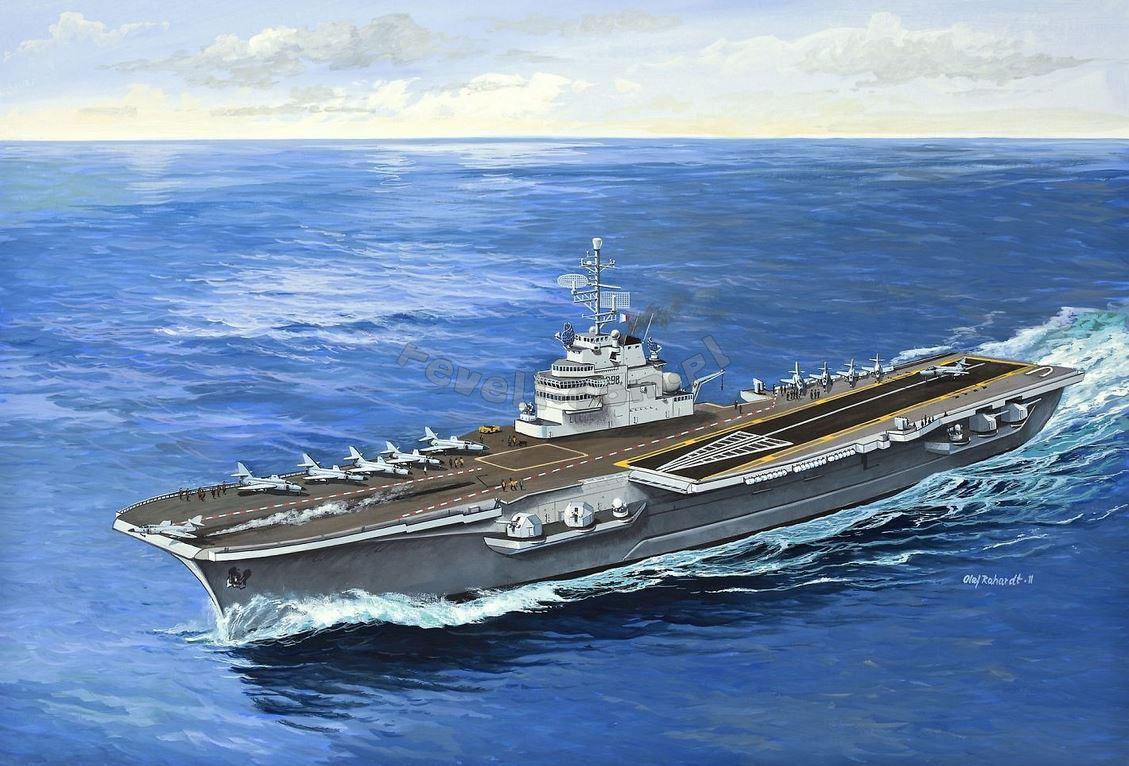 Historia okrętu French Aircraft Carrier Clemenceau