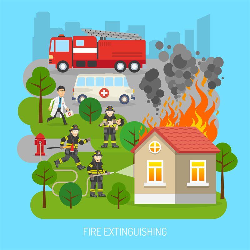 Dla jakich obiektów opracowuje się instrukcję bezpieczeństwa pożarowego?