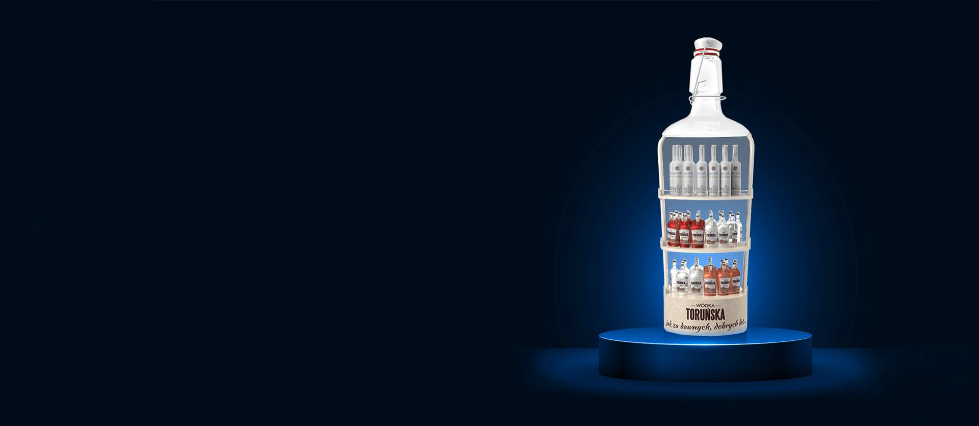 Regał reklamowy